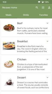 Recipes Home - Free Recipes and Shopping List for PC-Windows 7,8,10 and Mac apk screenshot 3