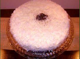 Chocolate Coconut Cherry Layer Cake Recipe