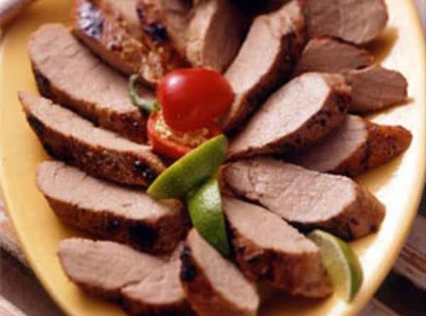 Honey Lime Marinated Pork Tenderloin Recipe