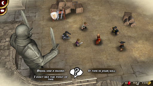 Traitors Empire Card RPG 0.73 screenshots 23