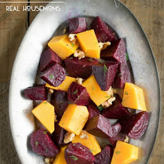 Roasted Honey Ginger Beets And Winter Squash.