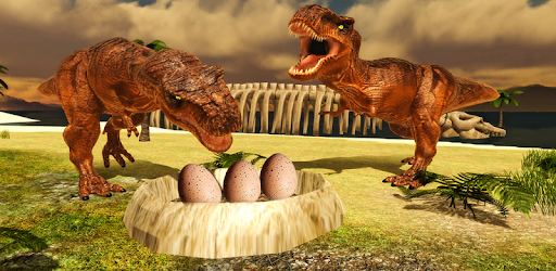 Live life of Tyrannosaurus Rex! Fight with other dino's & start Dinosaur family