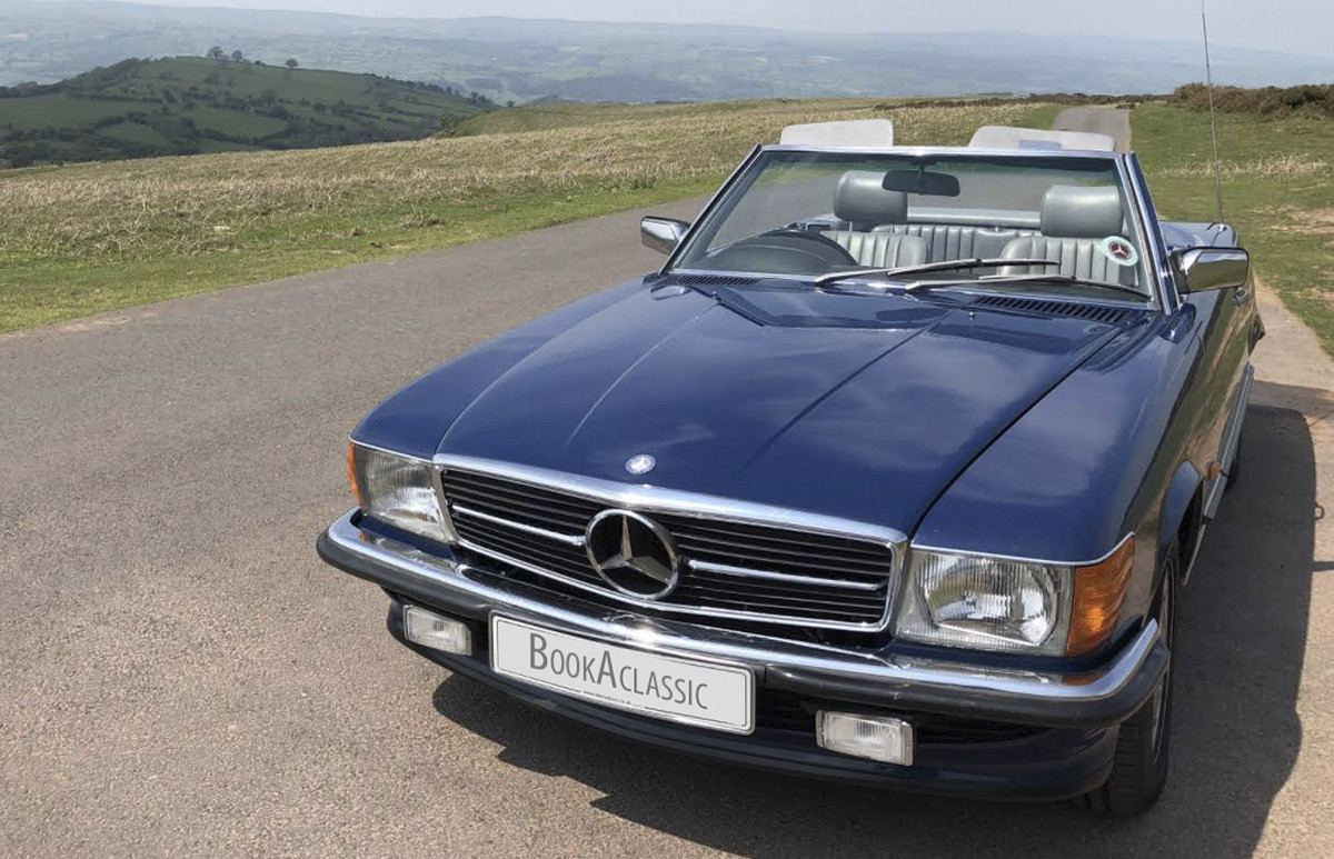 Mercedes-Benz 300SL Hire Hereford
