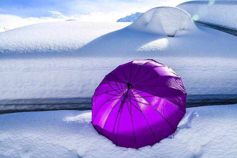 Via l' ombrello!...non nevica più... di laura62