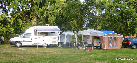 Photo: The AQSC camp at Bewl on 24 August 2014