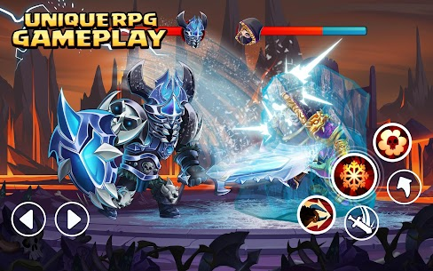 Tiny Gladiators 2: Heroes Duels – RPG Battle Arena Apk Download For Android and Iphone 7
