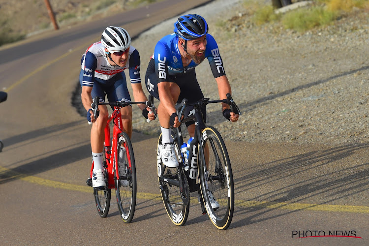 """🎥 Campenaerts na aanval in UAE Tour: """"Chance for failure 99,9 procent"""""""