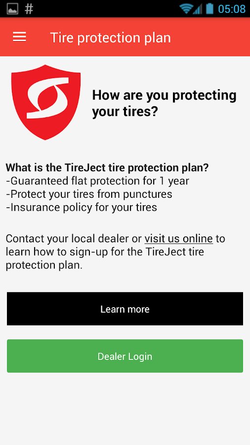 TireJect Tire Sealant Dosage- screenshot