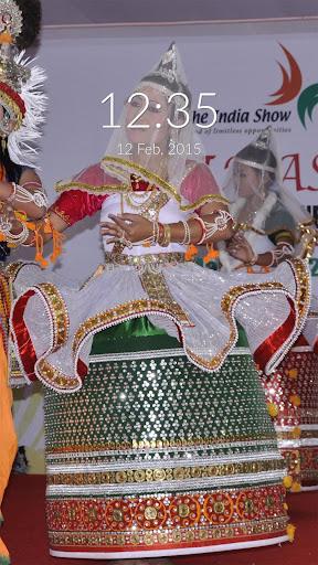 Manipuri Dance Wall Lock