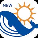 マリンウェザー海快晴 <海専門の天気と気象予報アプリ> icon