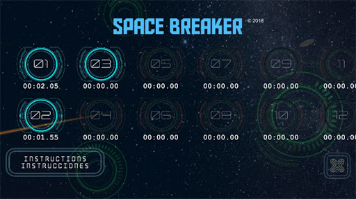 Space Trip Breaker 1.9 screenshots 2