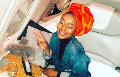 Nomzamo Mbatha is making sure she serves her purpose.