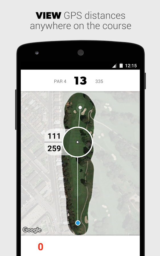 GAME GOLF - GPS Tracker- screenshot