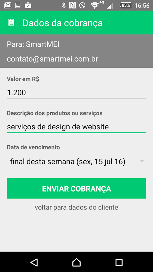 SmartMEI - app do Microempreendedor Individual MEI- screenshot