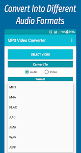 MP3 Video Converter Pro For Any Media Format - náhled