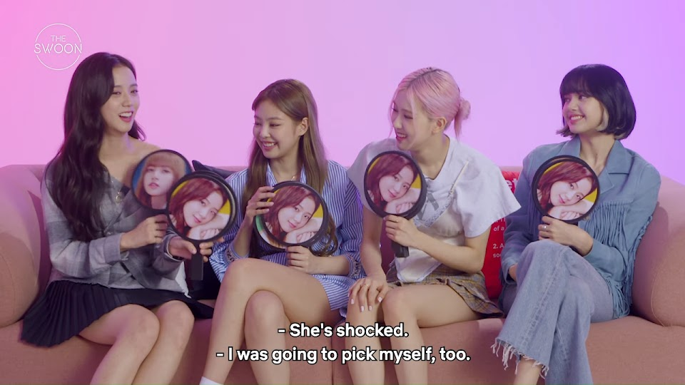 BLACKPINK tells us what they really think of each other _ Who, Me_ [ENG SUB] 6-11 screenshot