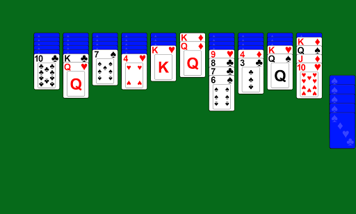 Spider Solitaire screenshot 4