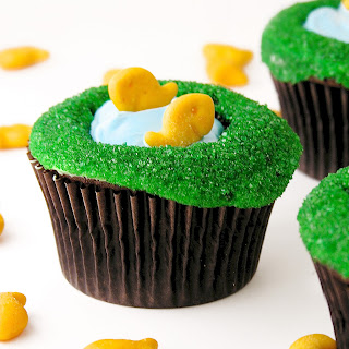 Fishing Pond Cupcakes