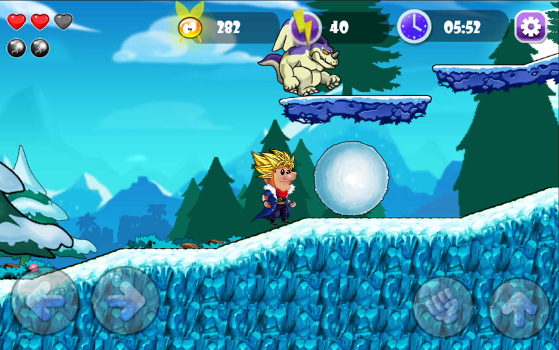 Super Lep's World Saiyan  5- screenshot