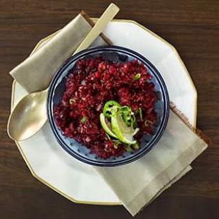Jalapeño-Cranberry Relish.