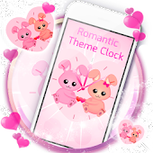 Romantic Theme Clock