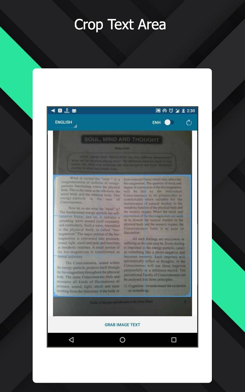 OCR Text Scanner  pro : Convert an image to text Screenshot 9