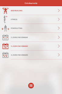 Fitness & Musculation Capture d'écran