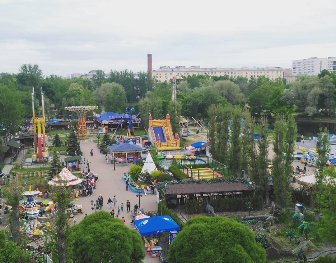 Парки развлечений и аттракционы Петербурга