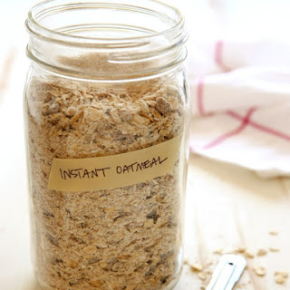 Homemade Instant Oatmeal Mix.