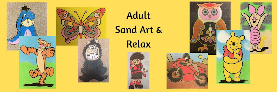 Adult Relax & Sand Art