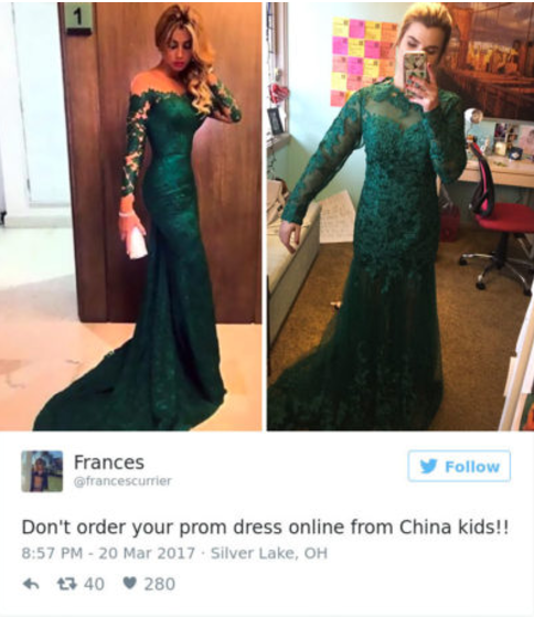 Tayland Would Have Totally Rocked This Dress If It Came Looking The Way Was Advertised