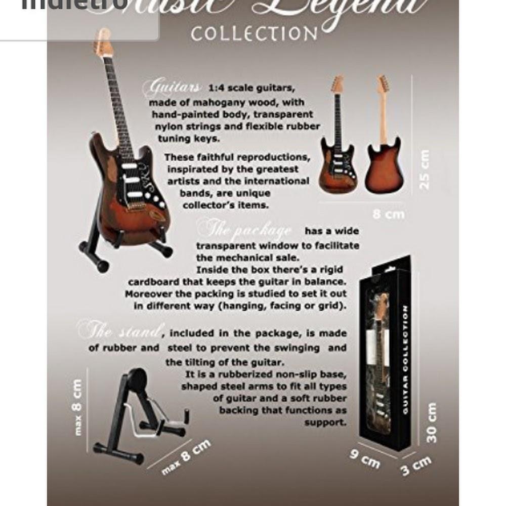Minichitarra da collezione
