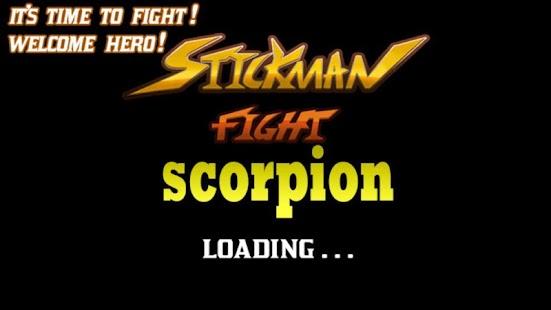 fight stickman vs scorpion - náhled