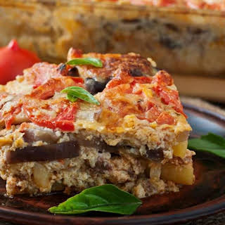 Turkey Moussaka.