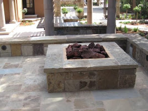 Photo: Coyote Mountain Firepit and Pavers