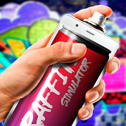 Graffiti spray simulator