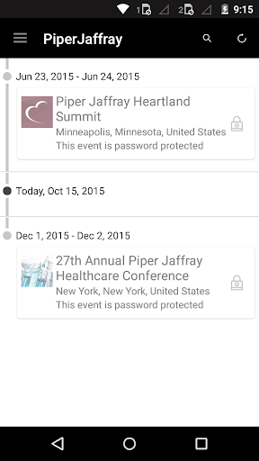 Piper Jaffray Conferences