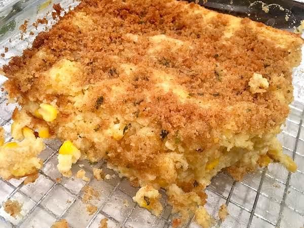 ~ Savory Corn Pudding ~ Recipe