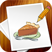 Learn to Draw Desserts & Food