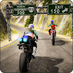 Motorcycle Racer 3D-Offroad Bike Racing Games 2018 Icon