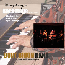 Photo: Promoting one of my Humphrey's Backstage shows in April 2007.