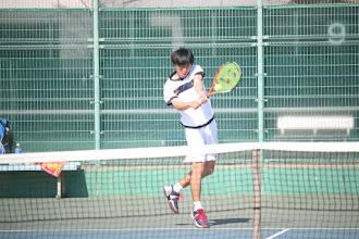Photo: 前崎(1年)は2回戦で準優勝の太田に惜敗。