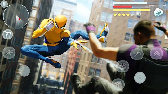 Spider Hero – Super crime city battle MOD (Money/Rewards/No Ads) 3