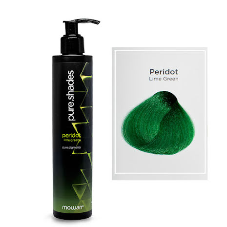 Pure Shades färginpackning | Peridot lime green