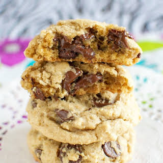 Thick and Chewy Brown Sugar Cookies.