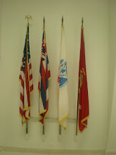 Photo: some of the flags inside the memorial