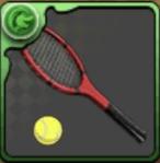 遠山のテニスラケット