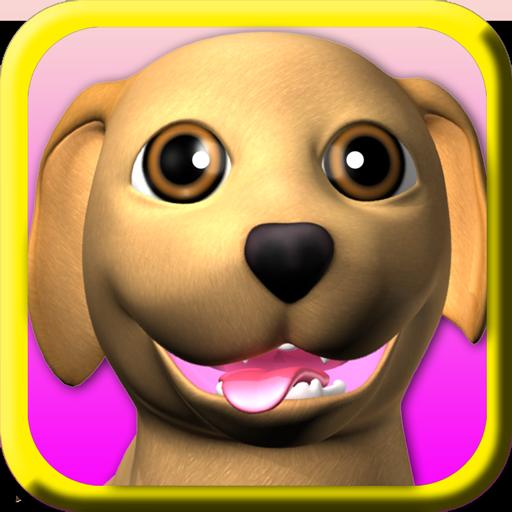 甜說話的小狗:有趣的狗 - Puppy Games Free 娛樂 App LOGO-APP試玩
