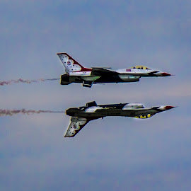 2     F-16 by Paul Drajem - Transportation Airplanes ( plane, jet plane, airshow, airplane, aircraft,  )