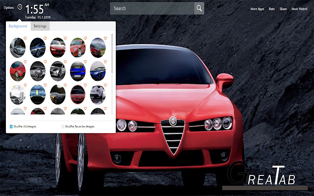 Alfa Romeo Wallpapers Theme Greatab